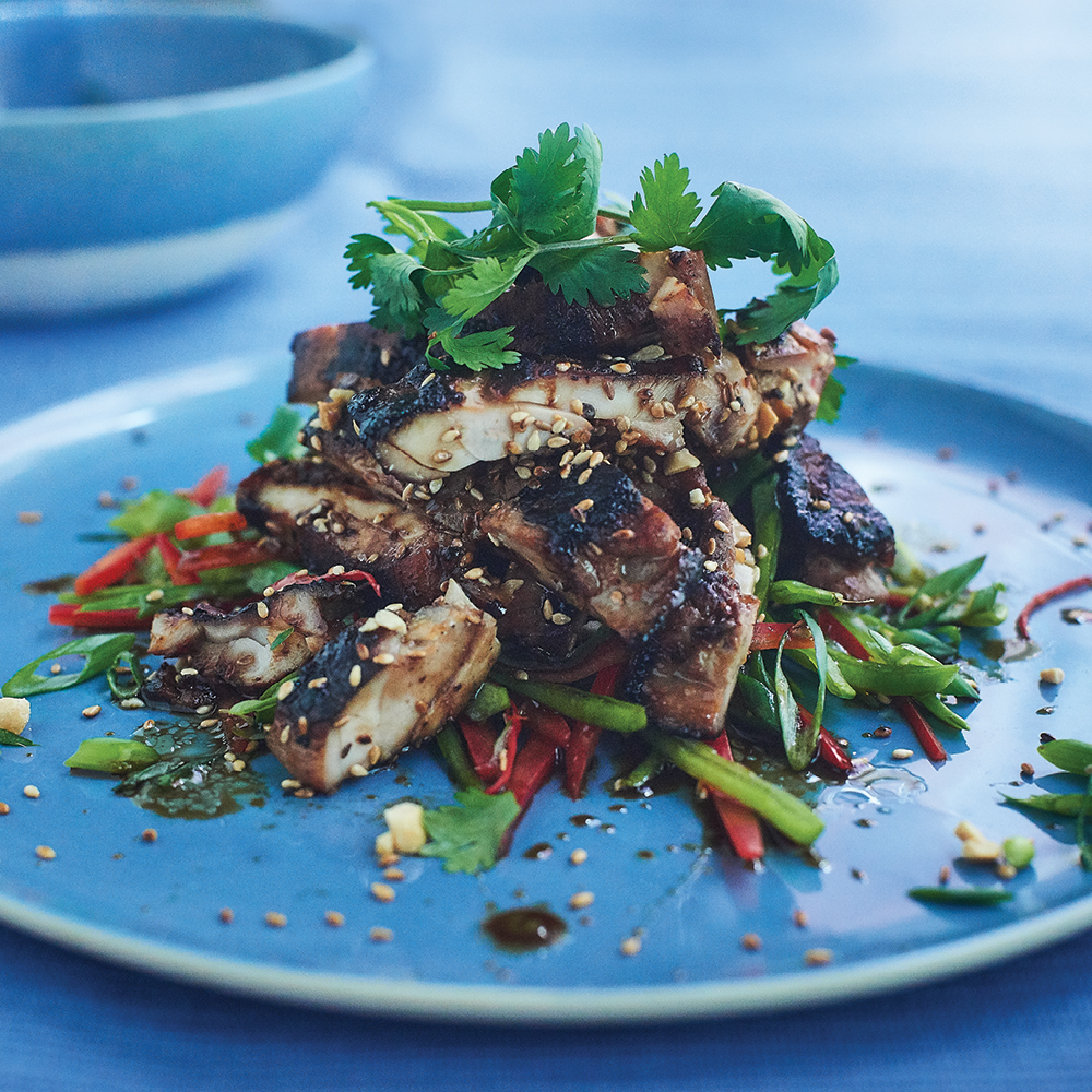 Thai Chicken Salad Recipe from Chef Mike Ward- Delicious and Healthy Meal Idea