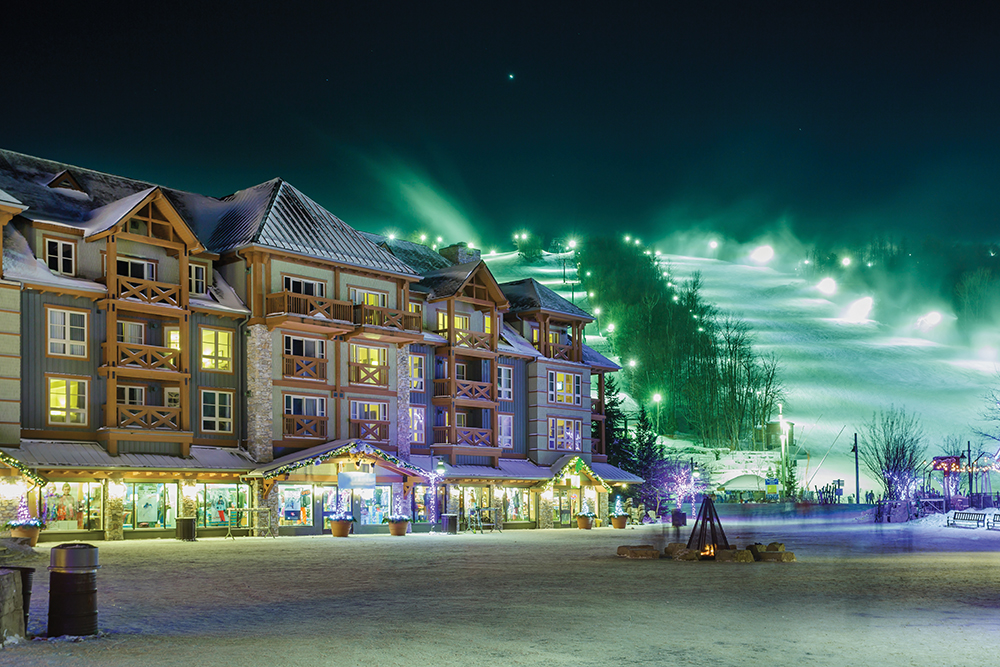Canada's Beautiful Winter Resorts