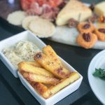 Baked Polenta Fries with Quick Truffle Mayo