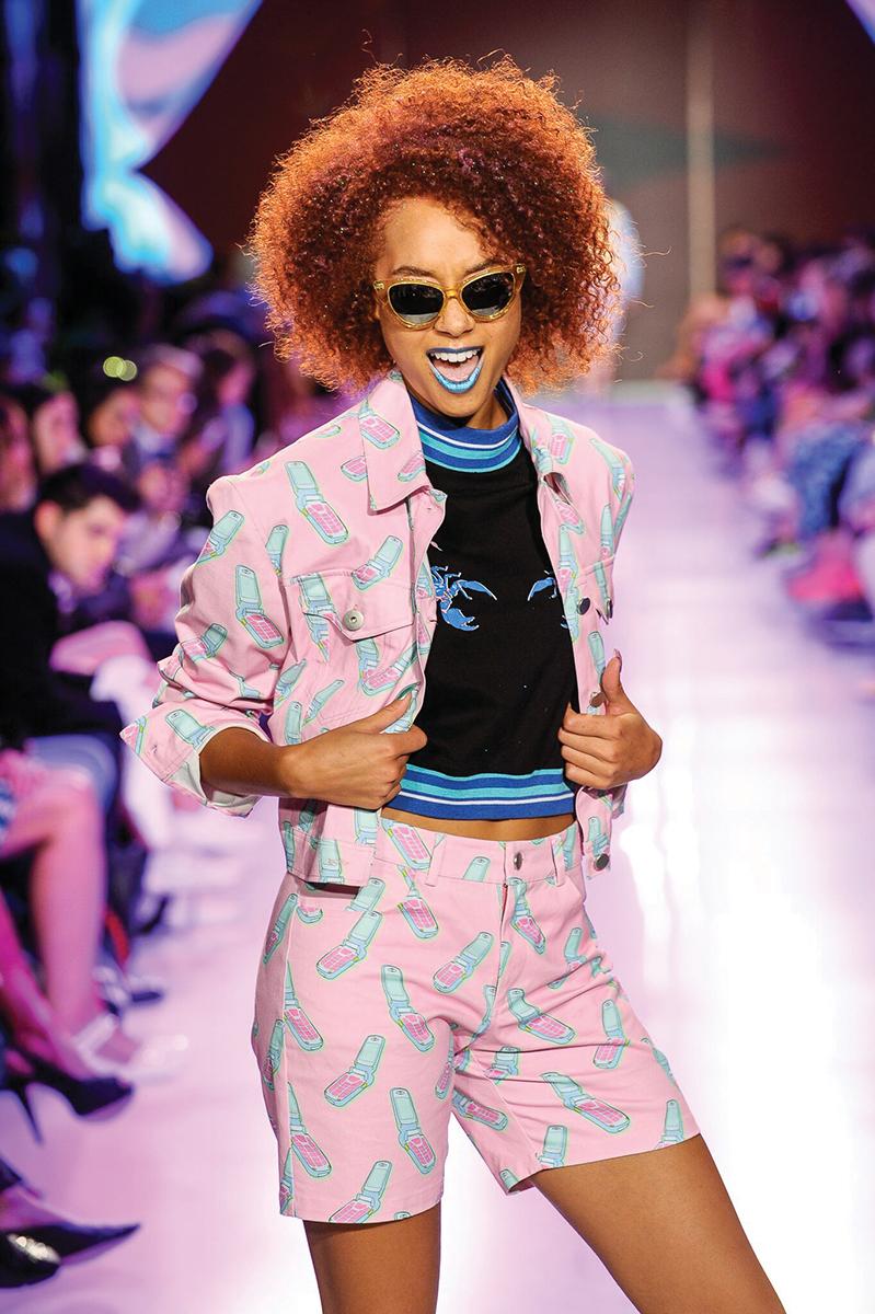 Photo Credit: Photo: Haylee Elsaessse. Toronto Fashion Week.