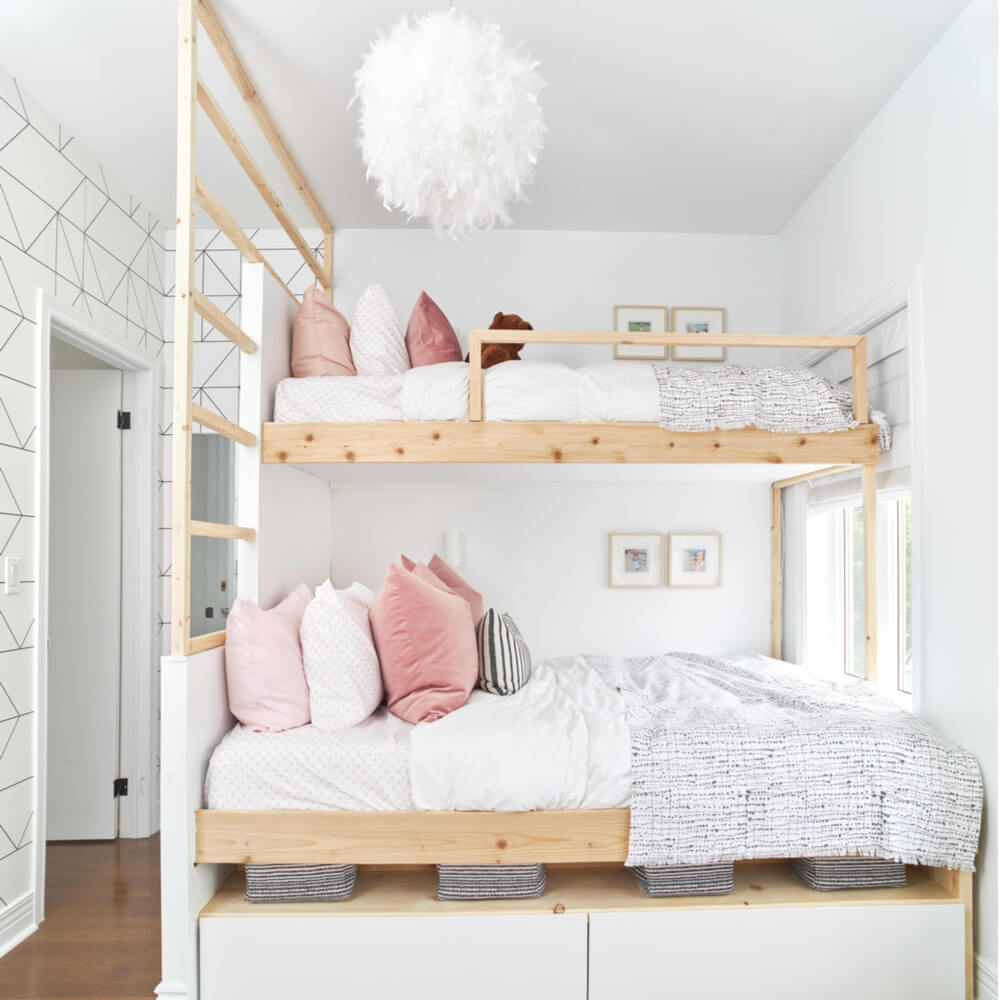 Ideal Shared Bedroom for Young Girls